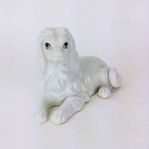 Other - White Afghan Dog Figurine